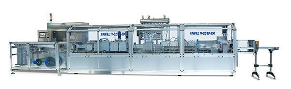 maquina vertical termoformado sector farmaceutico llenado sellado proinnova