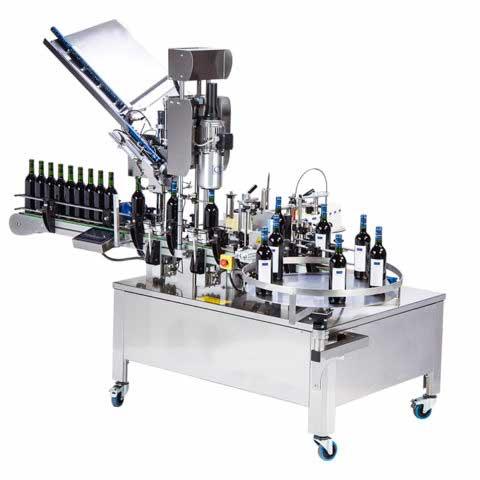 maquina etiquetadora capsuladora industrial proinnova